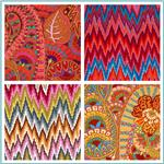 Kaffe Fassett  Home Decor Sateen Fabric