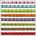 3/8'' Chenille Dot Ribbon