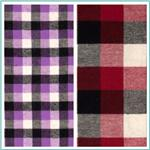 Yarn Dyed Flannel Plaid Fabric