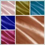 Charmeuse Satin Solid Fabric