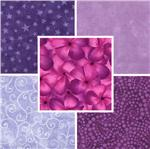 Quilting Fabric Blenders Purples