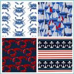 Beach and Sea Life Cotton Prints