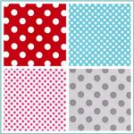 Riley Blake Dots Laminated Cotton Fabric