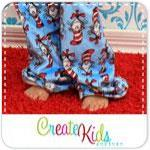 Taylor's Pajama Pants Kids Pattern