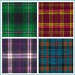 6 oz. Flannel Plaid Fabric