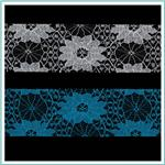 1 1/2'' Floral Lace Ribbon