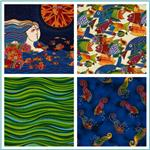 Laurel Burch Sea Spirits Metallic