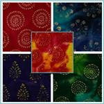 Textile Creations Burlap Batik Fabric