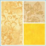 Quilt Backings 108'' to 110'' Yellows