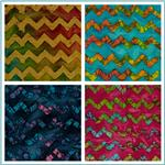 Chevron Indian Batiks