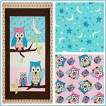 Owl Nursery Flannel