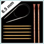 Knitting Needles Size US 10.5 - 6.5mm
