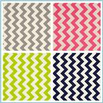 Riley Blake Le Creme Basics Chevron
