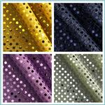 Dazzle Metallic Sequin Knit Fabric
