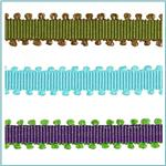"1/4"" Grosgrain Picot Edge Ribbon"