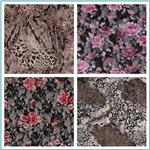 Stretch Printed Lace Fabric