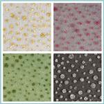 Glitter Dots Tulle Fabric