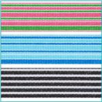 1-1/2'' Grosgrain Stripes Ribbon