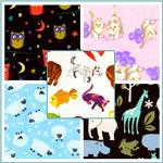 Flannel Animal Novelty