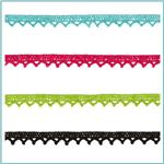 Riley Blake Sew Together 1/4&quot; Crocheted Lace Trim 