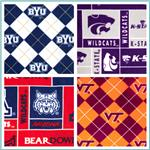 Collegiate Fleece Fabrics