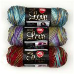 Red Heart With Love Variegated Yarn