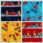 Off To The Rescue Flannel Fabric