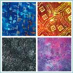 Abstract Indian Batiks