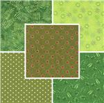 Quilting Fabric Blenders Greens