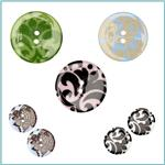 Damask Button Collection