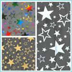 Metallic Stars Tulle Fabric
