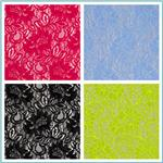 Springtime Floral Lace Fabric