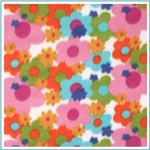 Floral Fleece Fabric