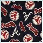 MLB Fleece Fabric
