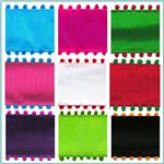 "1 1/2"" Pom-Pom Edge Wired Ribbon"