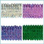 Hologram Stretch Sequin Trim