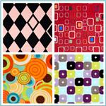 Minky Abstract &amp; Geometric Fabric