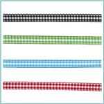 1/4'' Yarn Dyed Checker Ribbon