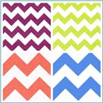"Riley Blake Chevron 58"" Manufactures Cut"