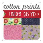 Cotton Prints Under $6 Yd