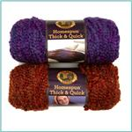Lion Brand Homespun Thick &amp; Quick Yarn 