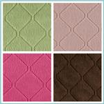 Minky Cuddle Diamond Quilted Fabric