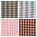 Woven 1/16  Carolina Gingham Fabric