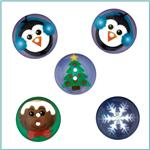 Winter Wonder Buttons