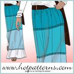 Tropicana Maxi Skirt Pattern