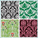 Michael Miller Damask Prints