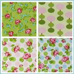 Sugar Hill Laminated Cotton Fabric