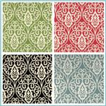 Waverly Williamsburg Bristol Scroll Jacquard Fabric