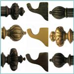 House Parts Decorative Drapery Hardware