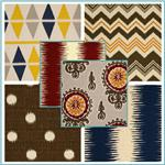 Premier Prints Birch Ikat Collection